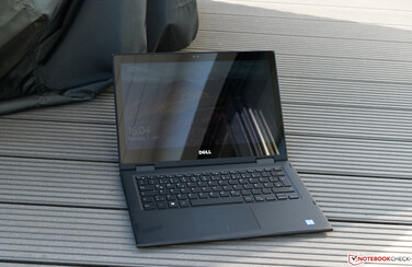 Using the Dell Latitude 3390 outside in the shade