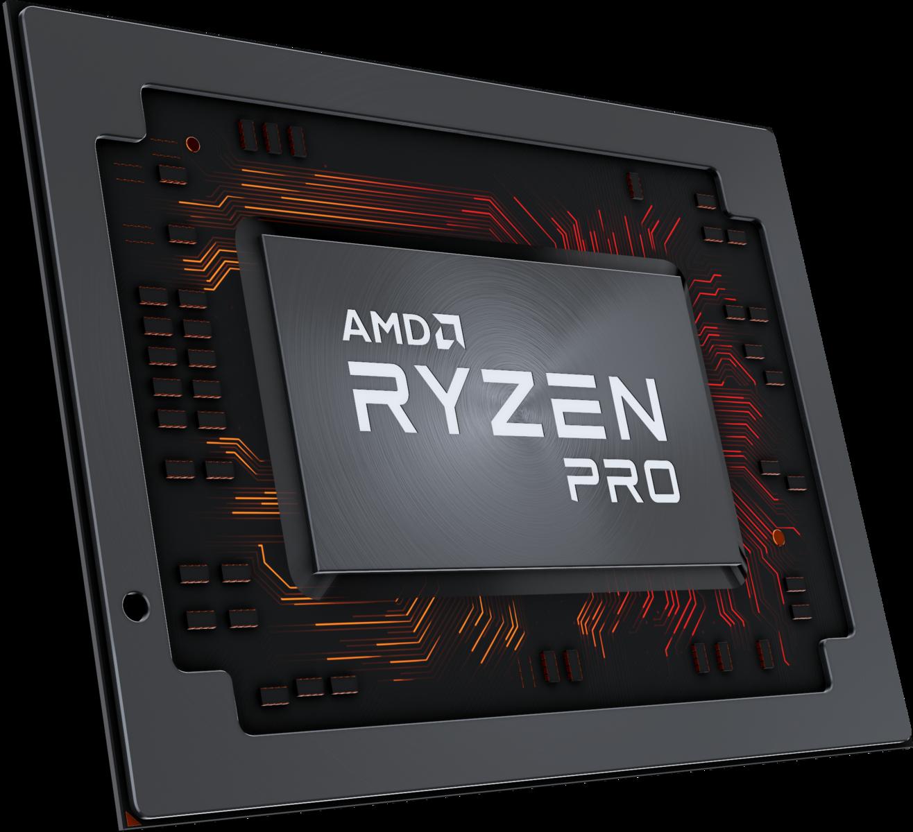 AMD Announces New Ryzen Pro Mobile APUs