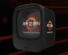 The AMD Ryzen Threadripper 1900X utilizes Socket sTR4 for CPU placement. (Source: AMD)