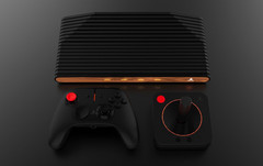 The Atari VCS Collector's Edition sports a distinctive wooden inlay. (Source: BGR)