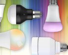 Connected LED bulbs can often change color at the tap of a screen. (Source: TechHive)