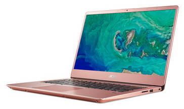Acer Swift 3 14-inch in pink. (Source: Acer)
