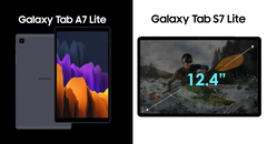 Samsung will release at least two new tablets in June 2021, both of them Lite models. (Image source: WalkingCat)