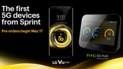 Sprint has opened pre-orders for its first 5G devices. (Source: Sprint)