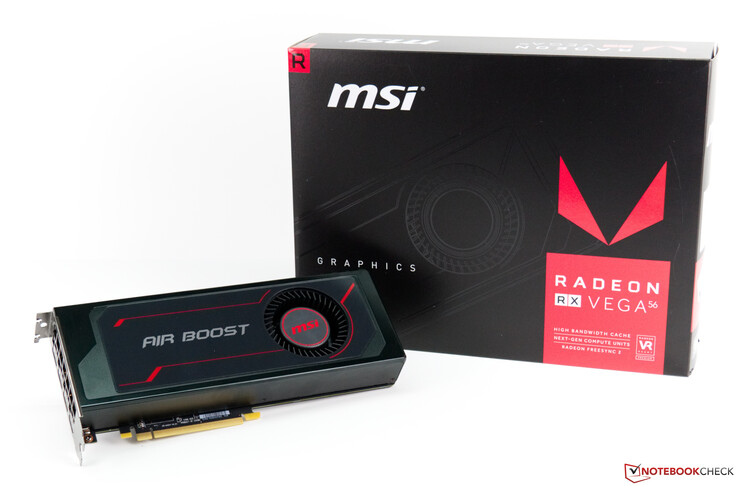 MSI AMD Radeon RX Vega 56 Air Boost OC Edition