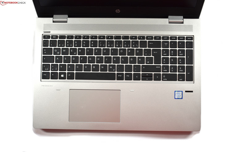 Keyboard of the ProBook 650 G4