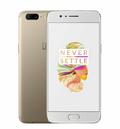OnePlus 5 in Soft Gold. (Source: OnePlus)