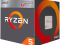 The benchmark results are promising, but the success also depends on the actual price point of the Ryzen 5 2400G APU. (Source: AMD)