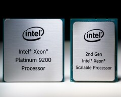 The new Cascade Lake AP scalable processors come with dual-die BGA packages. (Source: TechSpot)