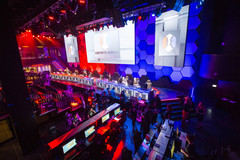 The LAX Nightclub at the Luxor Las Vegas hotel was converted into an esports arena. (Source: Las Vegas Review)