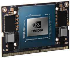NVIDIA says that the Jetson Xavier NX is the world's smallest supercomputer for AI applications. (Source: NVIDIA)