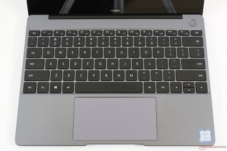 Huawei MateBook 13 - Input devices