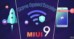 Game Speed Booster hits MIUI 9 (Source: MIUI)