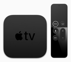 The new Apple TV 4K looks like the 4th-gen model, but packs a bigger punch. (Source: Apple)