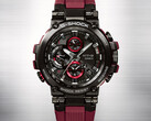 The new 'bright red' Casio G-SHOCK MT-G connected watch. (Source: Casio)