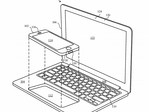 Apple's patented design for a iPhone/laptop hybrid. (Source: USPTO)