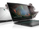The Alienware m17 gaming laptop currently only has 60-Hz panel options. (Source: Dell)