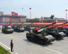 North Korean military parade, Samsung most popular phone brand in the country according to unofficial reports