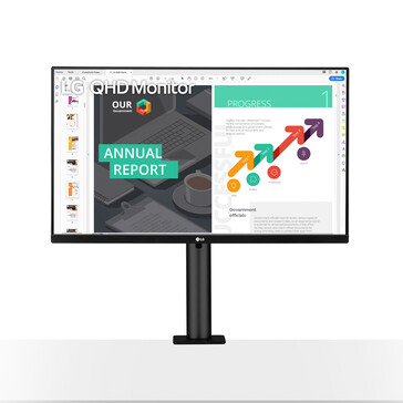 The new LG Ergo monitor. (Source: LG)