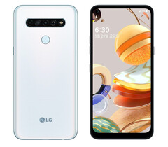The LG Q61 features a 6.5-inch display. (Image source: LG)