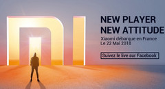 Xiaomi France teaser (Source: Facebook)