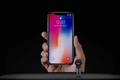 The iPhone X. (Source: CNBC)