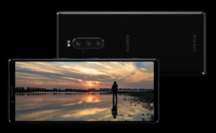 Sony's Xperia 1 is the first smartphone with a 4K HDR OLED display. (Source: Sony)