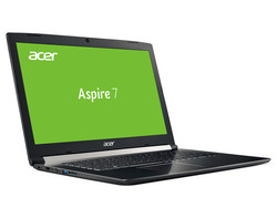 Acer Aspire 7 A717-71G-72VY. Review unit courtesy of notebooksbilliger.de