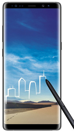 The Galaxy Note 8 is now available for pre-order on Amazon India. (Source: Amazon)