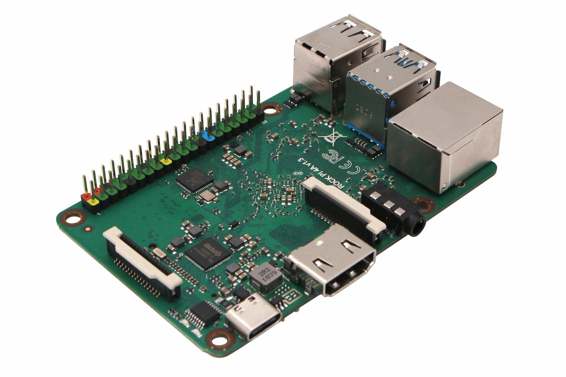 Rock Pi 4: A Rockchip RK3399 Powered Raspberry Pi
