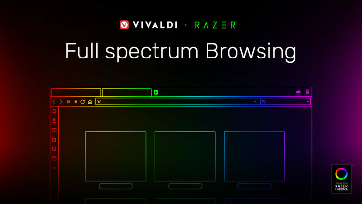Vivaldi 2.5 with Razer Chroma support now available (Source: Vivaldi Browser)