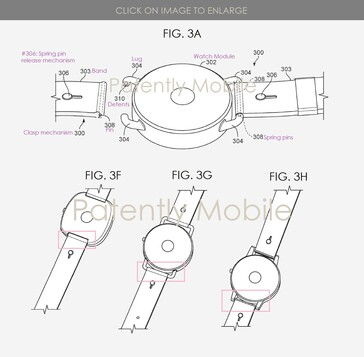 The patent's explanatory images. (Source: Patently Apple)
