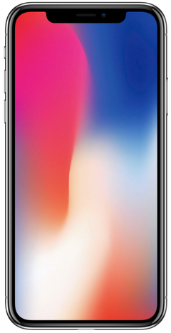 The iPhone X features an full-body OLED display. (Images: Apple)