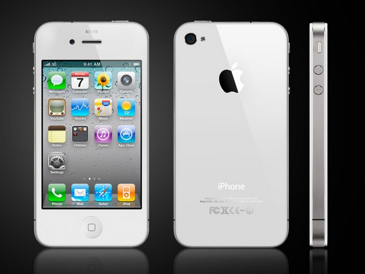 The iPhone 4 was released in 2010. (Source: Apple)