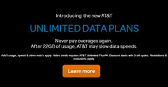 AT&T intros GoPhone unlimited data plans with 22 GB download cap