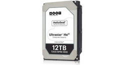 WD 12 TB HGST Ultrastar He12 Helium 7200 RPM Enterprise HDD now shipping