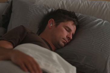 Bode sleepbuds are slim enough to allow people to sleep on their side. (Source: Bose)