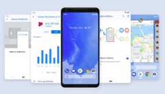 Android 9.0 Pie is now being seeded to Pixel phones. (Source: Google)