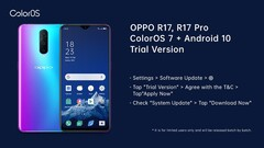 These OPPO phones now have an Android 10 beta program. (Source: Twitter)