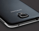 Samsung Galaxy S5 back faux leather detailed
