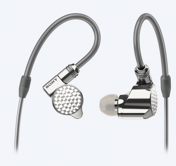 Sony Signature Series IER-Z1R in-ear headphones. (Source: Sony)