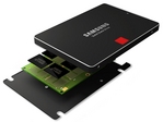Samsung plans to release successors for the 960 EVO and Pro SSDs. The 970 and 980 NVMe SSDs are expected to be launched in 2018. (Source: Samsung)