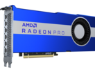AMD Radeon Pro VII brings Vega 20 and 1 TB/s HBM2 goodness to industrial applications. (Image Source: AMD)