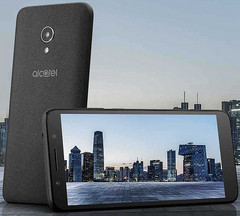 Alcatel 1X Android Go smartphone with 2:1 display and MediaTek MT6580 processor (Source: Alcatel Mobile)