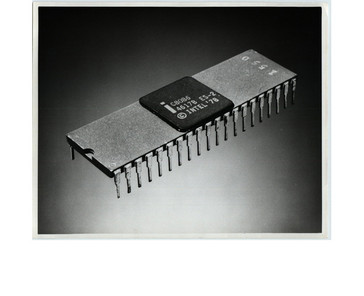 The Intel 8086 microprocessor. (Source: Intel)