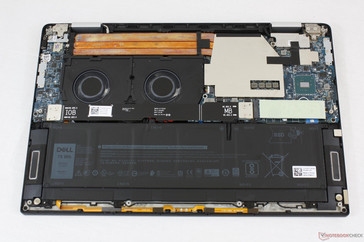 Dell XPS 15 9575. Easily upgradeable SSD