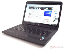 In review: HP Pavilion 17-x110ng. Test model courtesy of Notebooksbilliger.