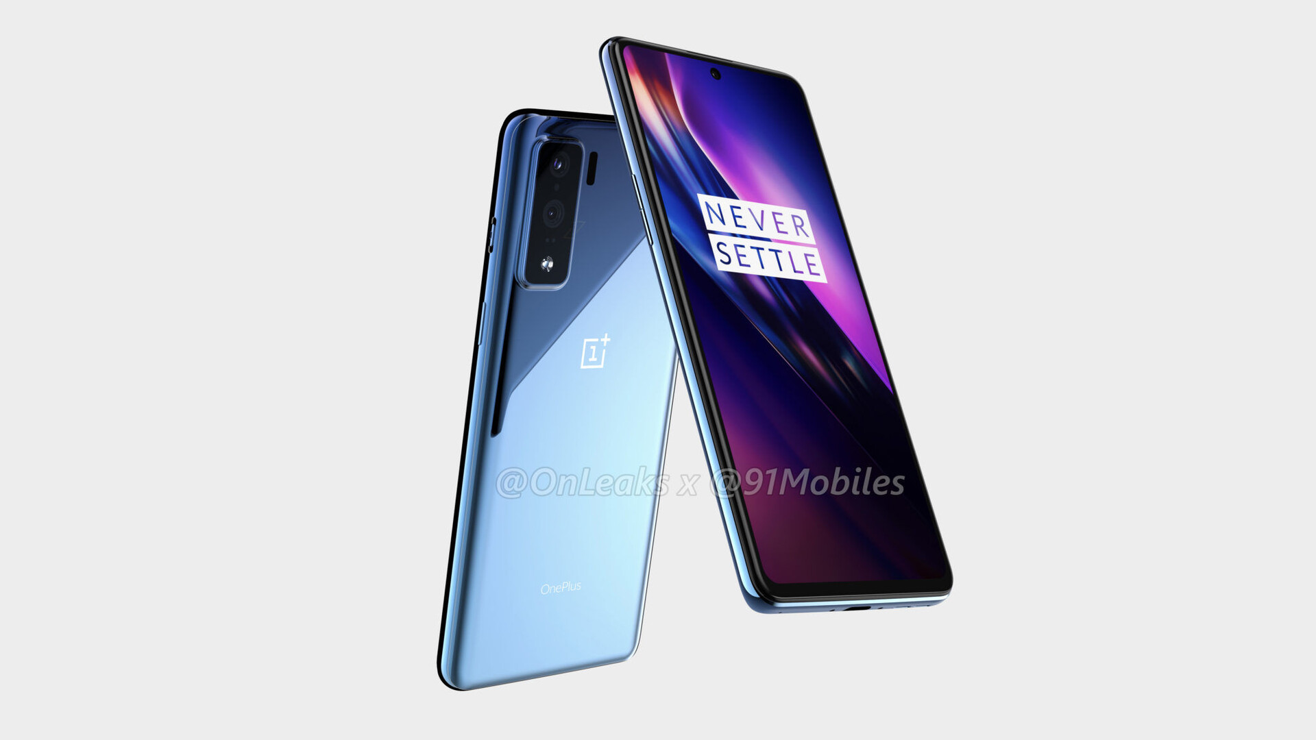 OnePlus 8 Lite renders reveal punch hole display and rectangular camera bump