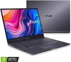 Asus ProArt StudioBook 15 H500 and StudioBook 17 H700 ditch Quadro RTX graphics for the GeForce RTX 2060 (Image source: Amazon)