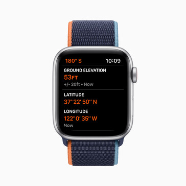 The Watch SE with some new watchOS 7 features. (Source: Apple)